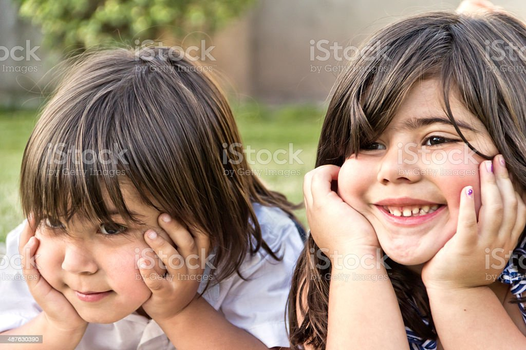 Childhood stock photo