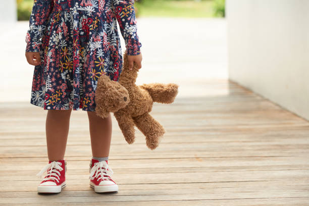 childhood - teddy bear stock photos and pictures
