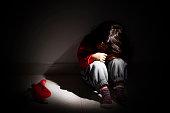 子供時代の問題の児童虐待