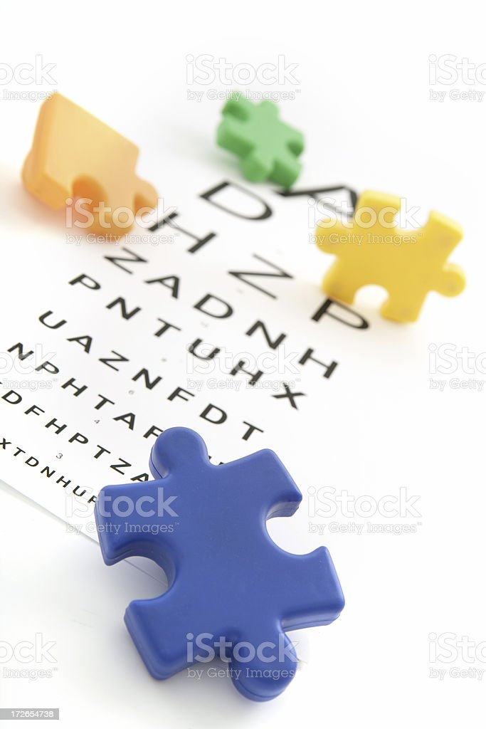 Childhood Vision royalty-free stock photo