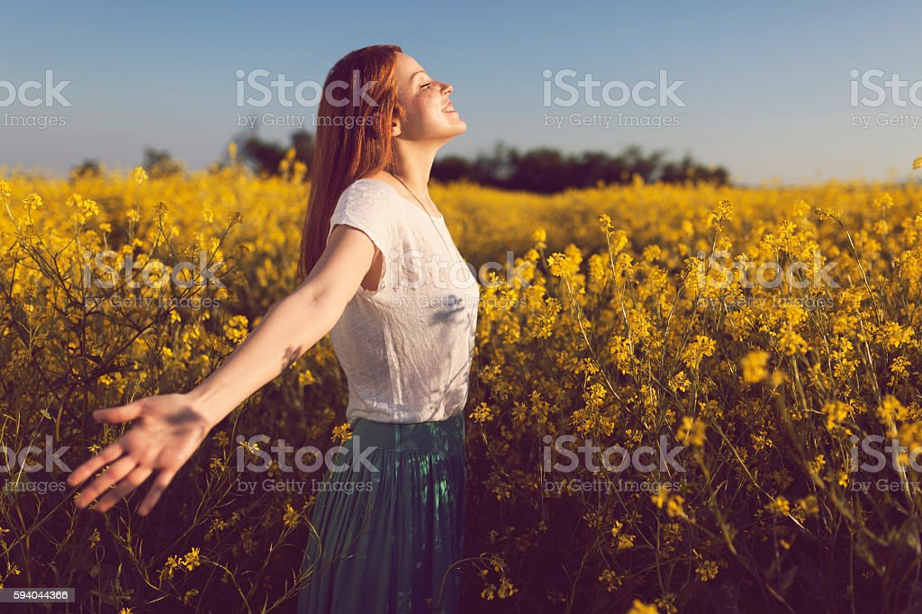Childish Heart stock photo