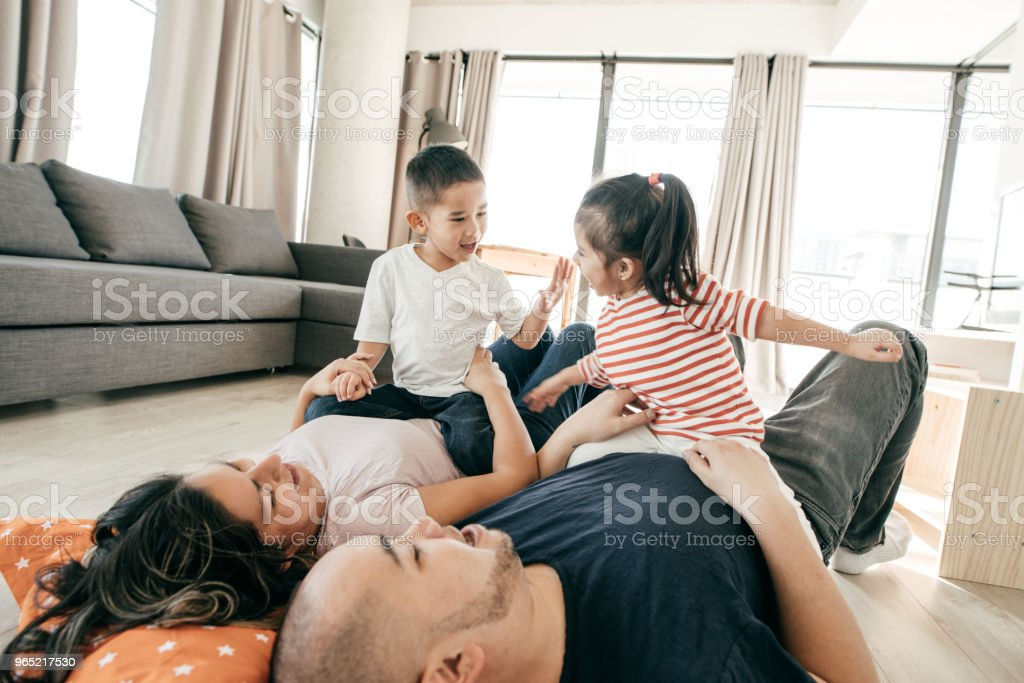 Child-parent relationship royalty-free stock photo