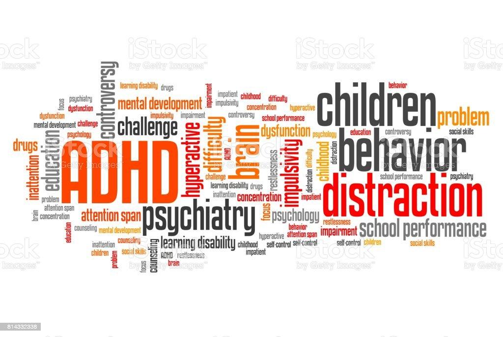 Children ADHD stock photo