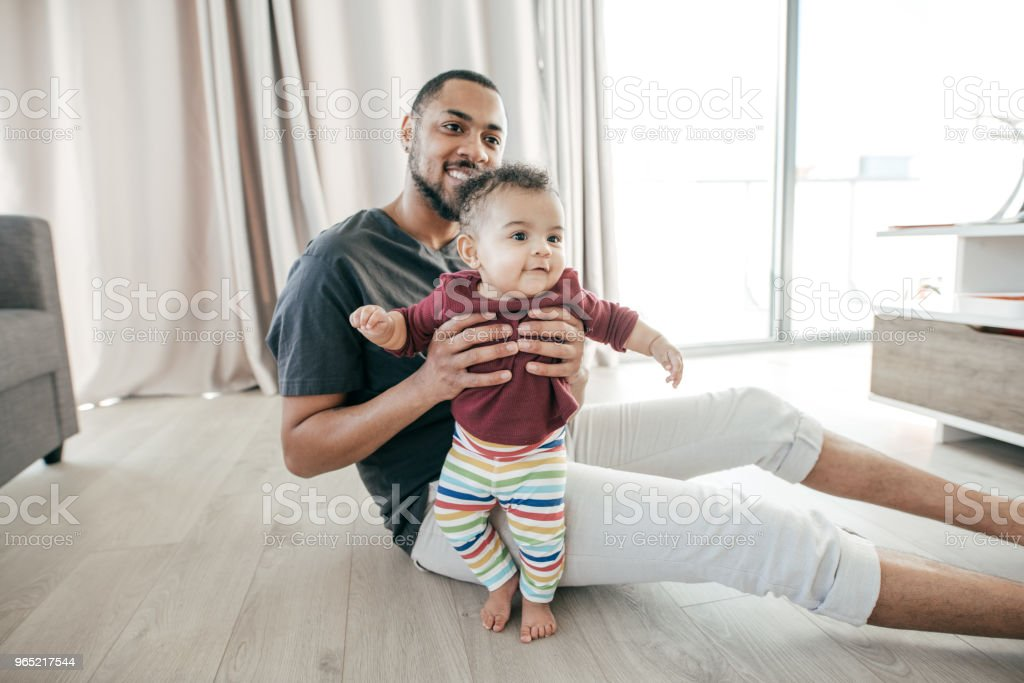 Children and divorced parents royalty-free stock photo