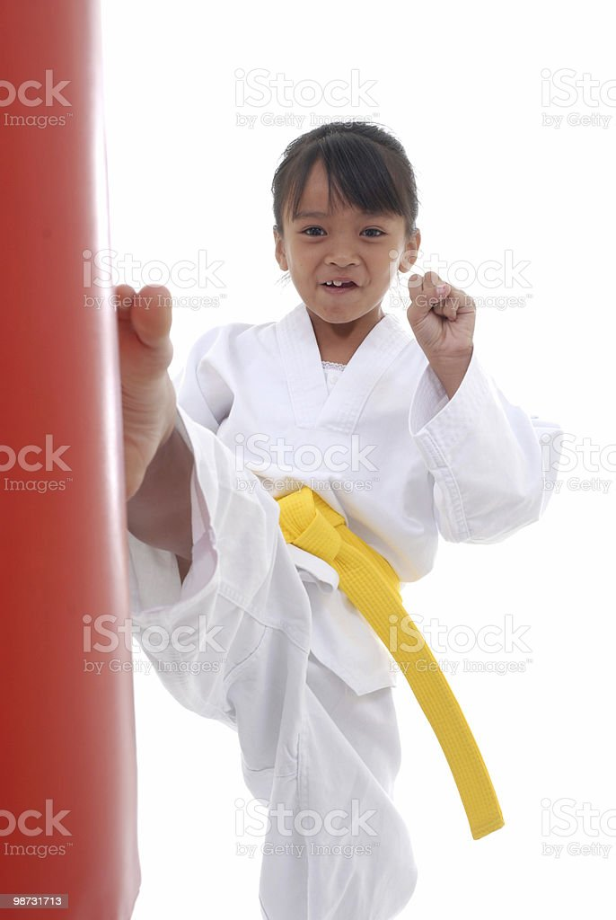 Children and exercise royalty-free stock photo