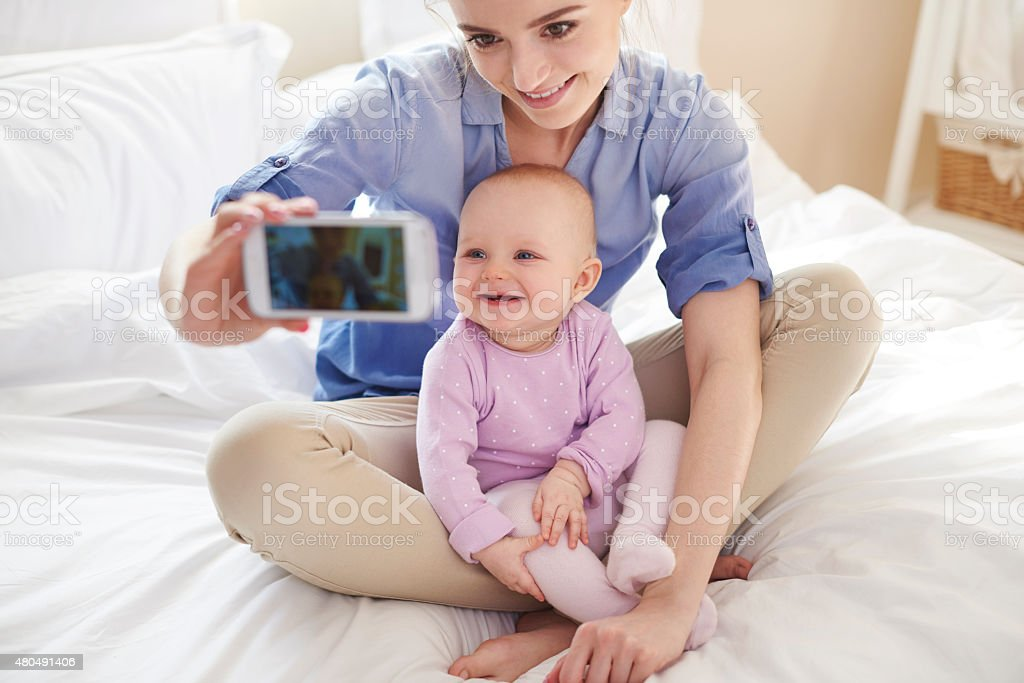 Children are growing so fast stock photo