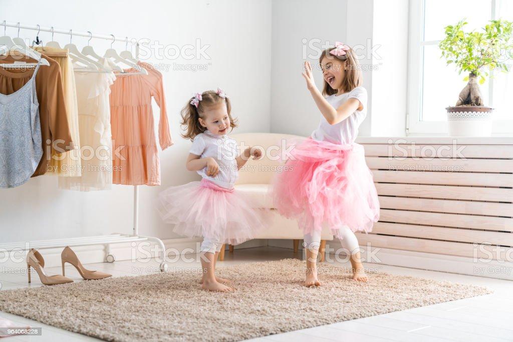 children are having fun - Royalty-free Beauty Stock Photo