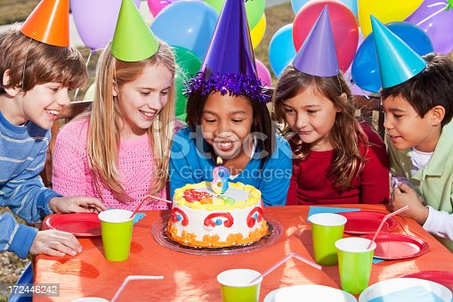 933458532 istock photo Children at birthday party 172446242