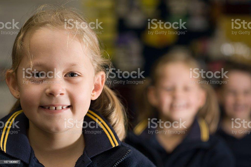 Children at School royalty-free stock photo