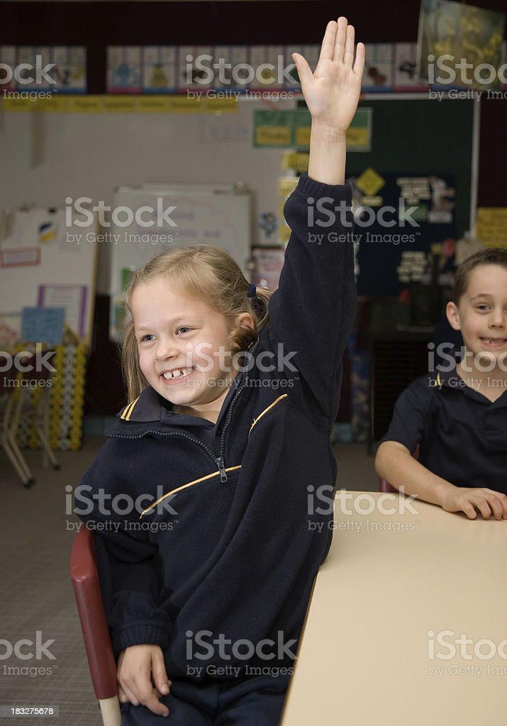 Children at School royalty-free stock photo