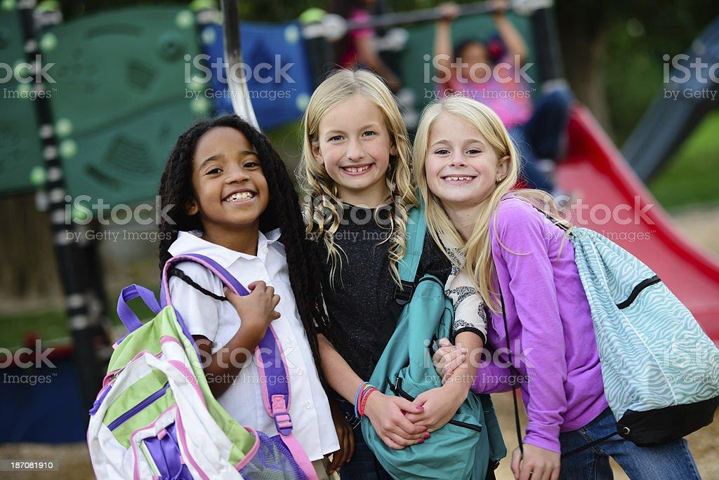 Children Before School stock photo