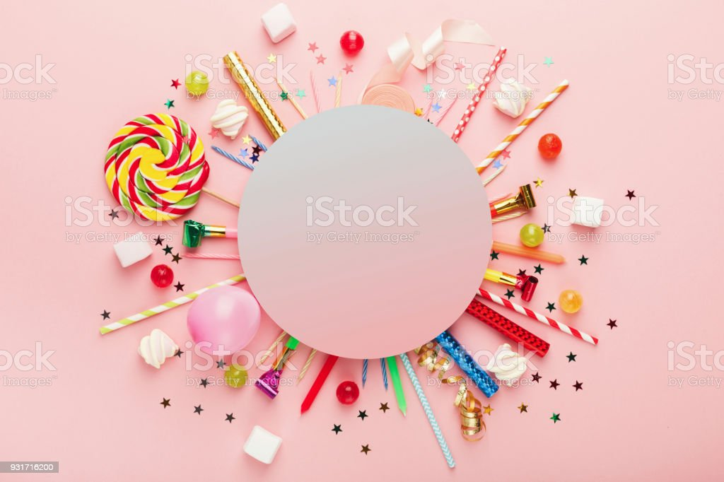 Children Birthday Party Background Stock Photo Download Image Now