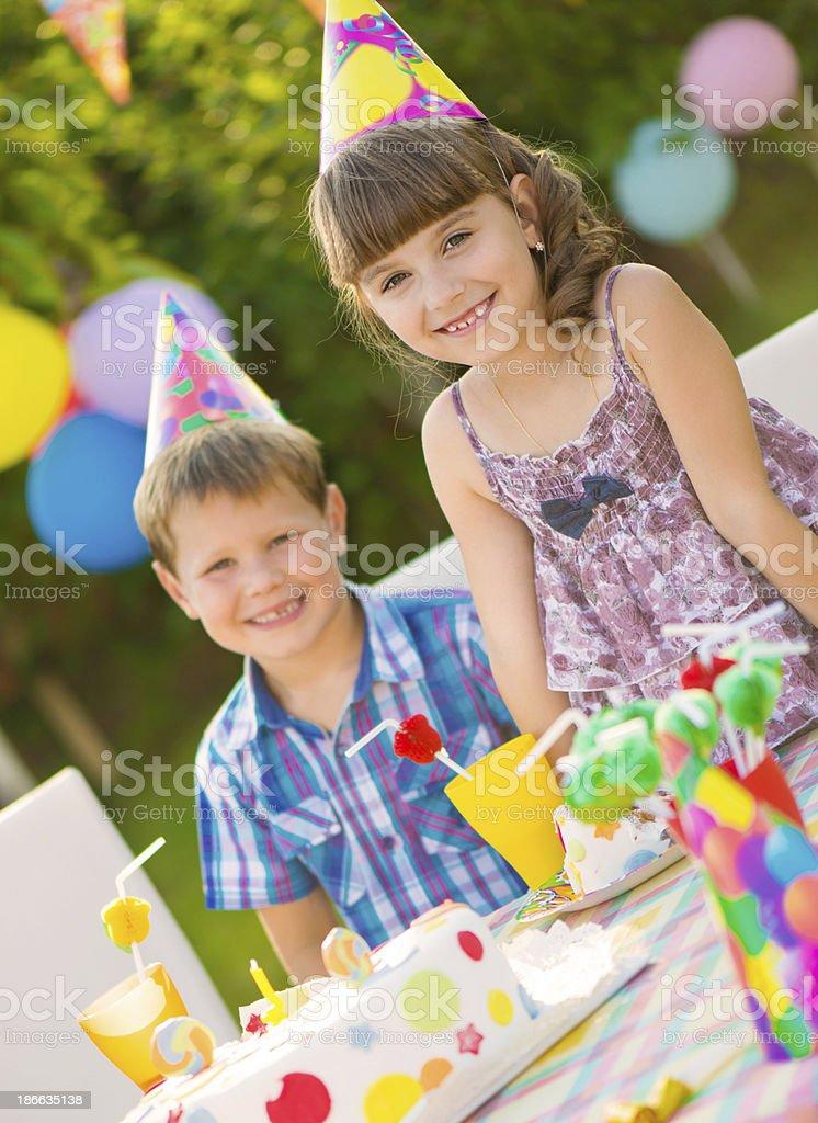 Children birthday party royalty-free stock photo