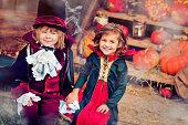 istock Children celebrating Halloween 471905923