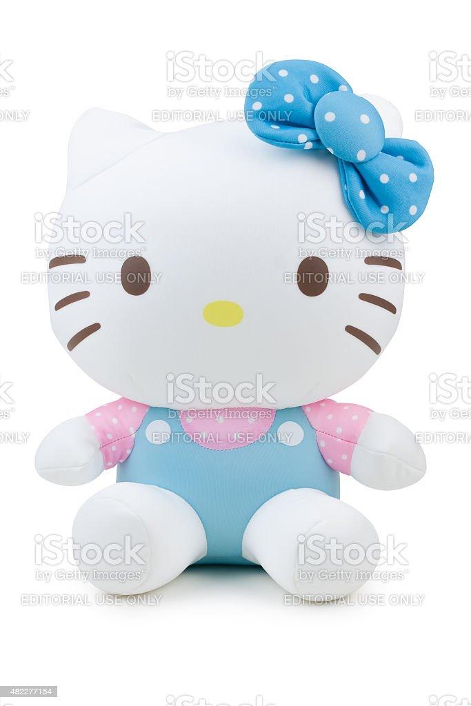 Children cloth toy-Hello Kitty figure stock photo