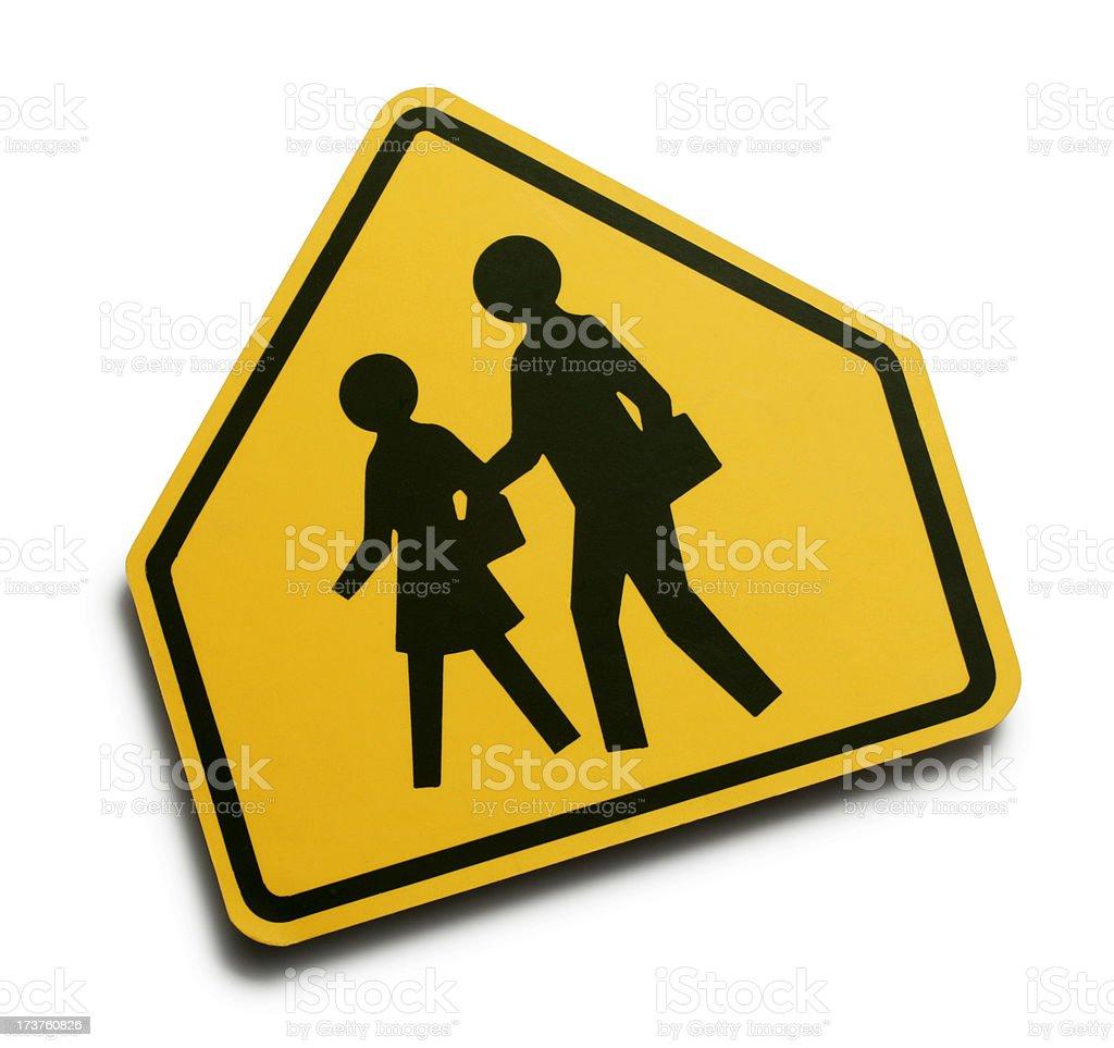 Children Crossing stock photo