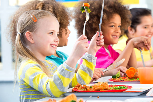 Children eating school dinners picture id499470911?b=1&k=6&m=499470911&s=612x612&w=0&h=rkt9psm8appihrcnb1bp6jdhwmsktfmwozgfvkeb8cg=
