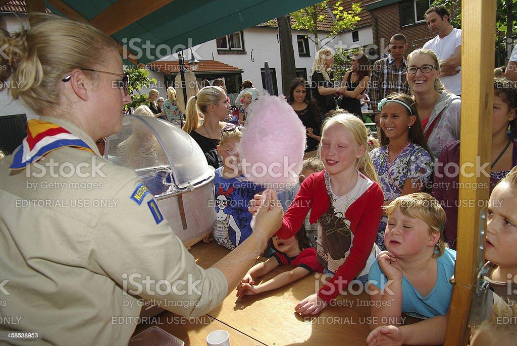 Children event stock photo