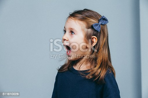istock children girl enjoying screaming expression 511610026