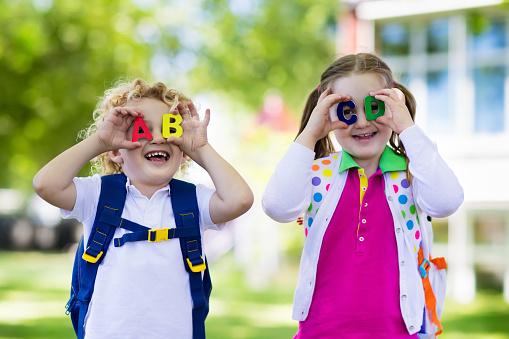 istock Children going back to school, year start 824727246
