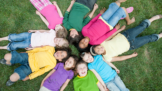 istock Children in a Circle 485640188