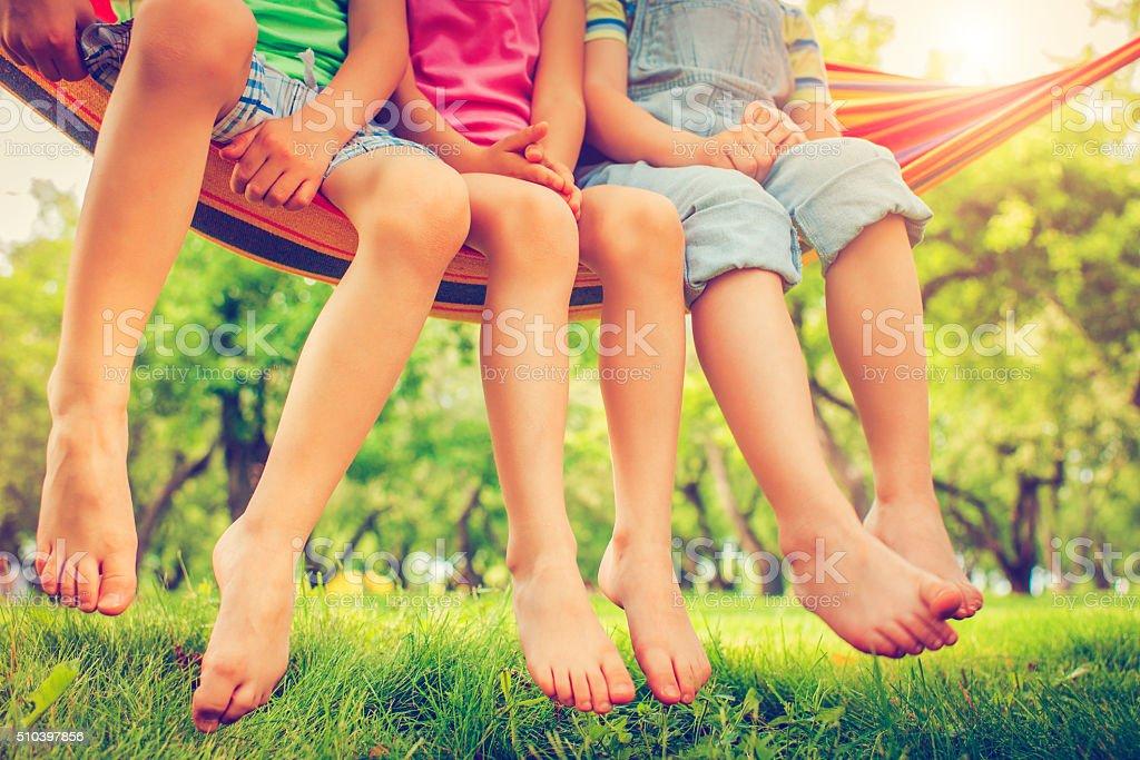 어린이 여름 스톡 사진