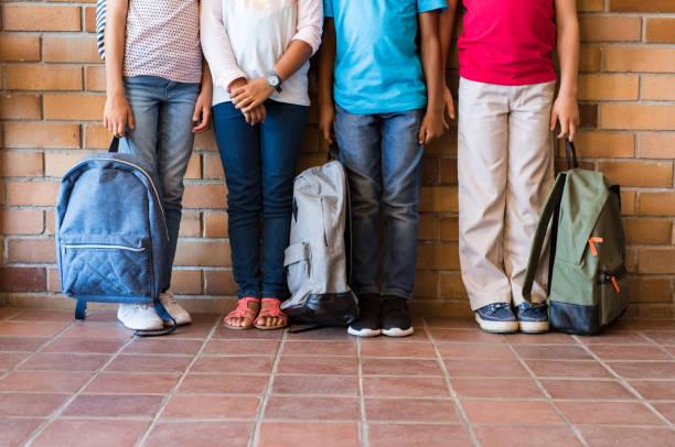 Children legs with backpacks at school picture id950610056?b=1&k=6&m=950610056&s=612x612&w=0&h=sry4galci6s ogk2zykkzvygxxeb4mu7yahy4phuj7o=