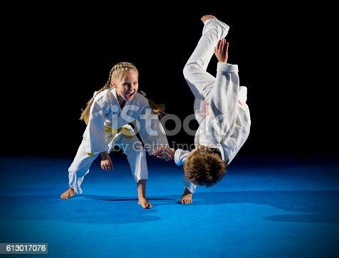 istock Children martial arts fighters 613017076