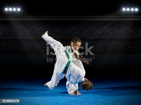 istock Children martial arts fighters 629963078