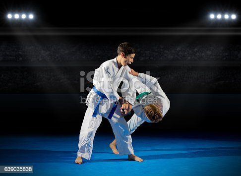 istock Children martial arts fighters 639035838