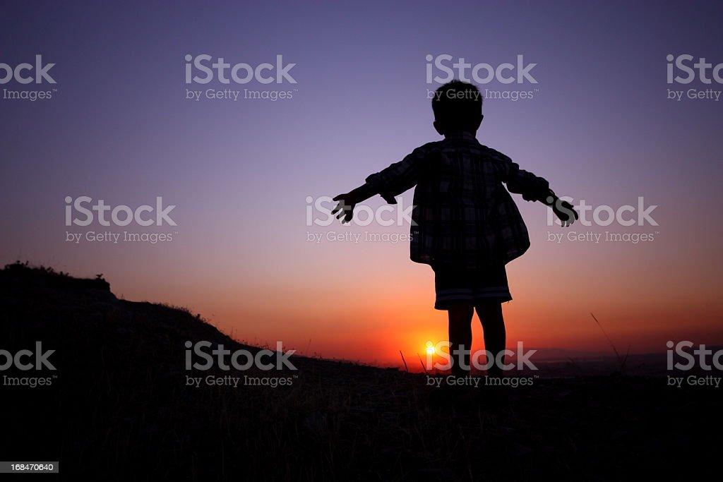 Children of sun royalty-free stock photo