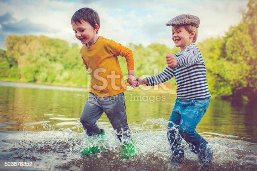 istock Children outdoors 523876352