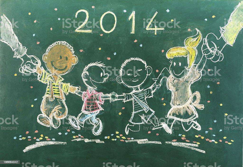 Children Party 2014 stock photo