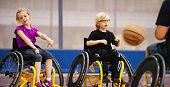 istock Children Passing a Basketball 499778154