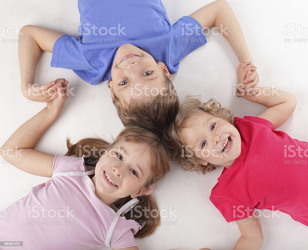 I bambini foto stock royalty-free
