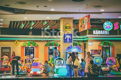 istock Children playground corner in Thai hypermart 641688490