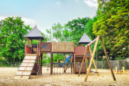 Children Playground Stock Photo - Download Image Now