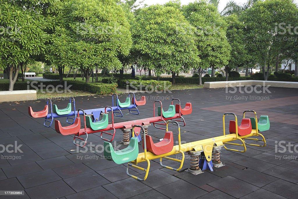 children playground royalty-free stock photo
