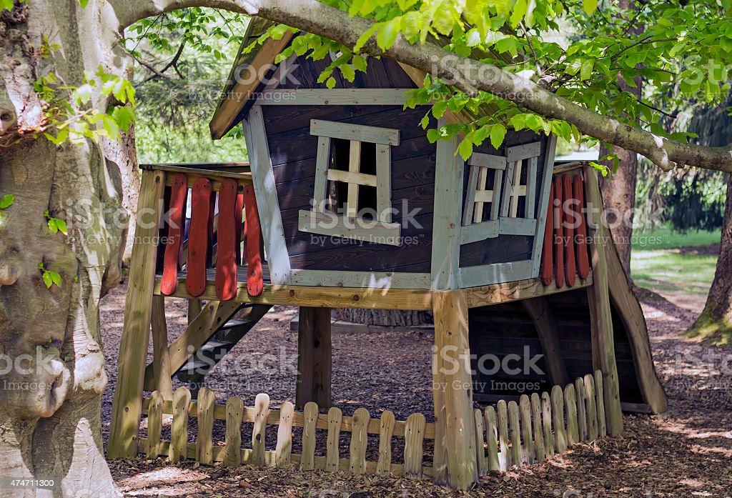 Children playhouse stock photo