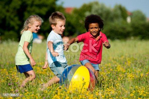 istock Children Playing Ball 152136572