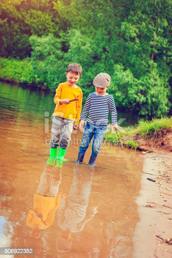 istock Children playing outdoors 506922352