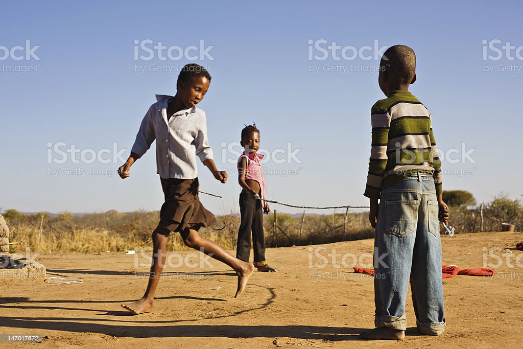 children playing stock photo