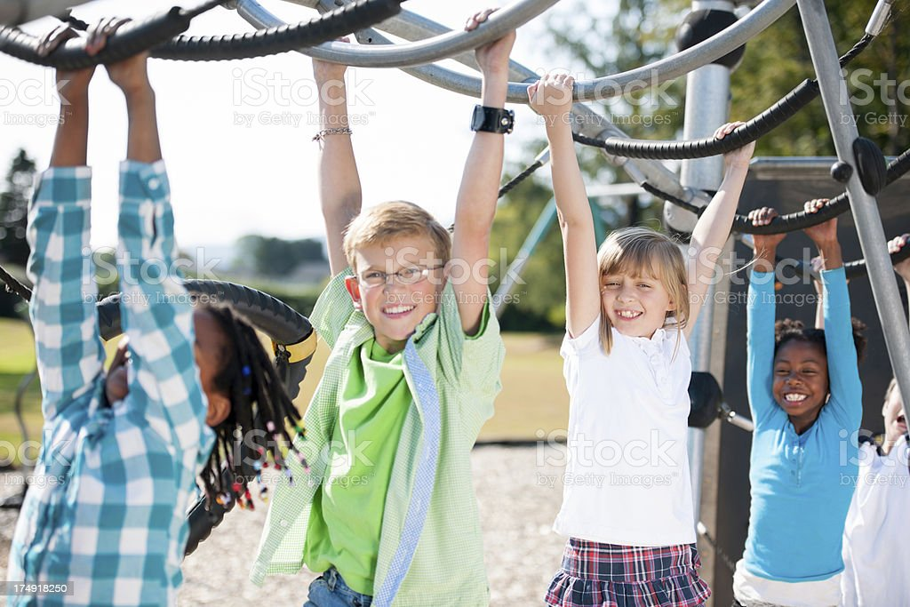 Children playing royalty-free stock photo
