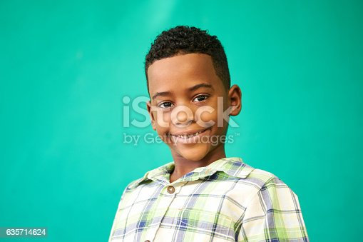 istock Children Portrait Young Boy Smiling Happy Black Male Child 635714624