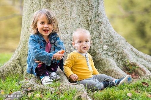 176993221istockphoto Children posing at a park 622031928