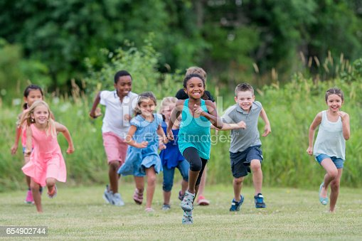 istock Children Running Outside at Recess 654902744