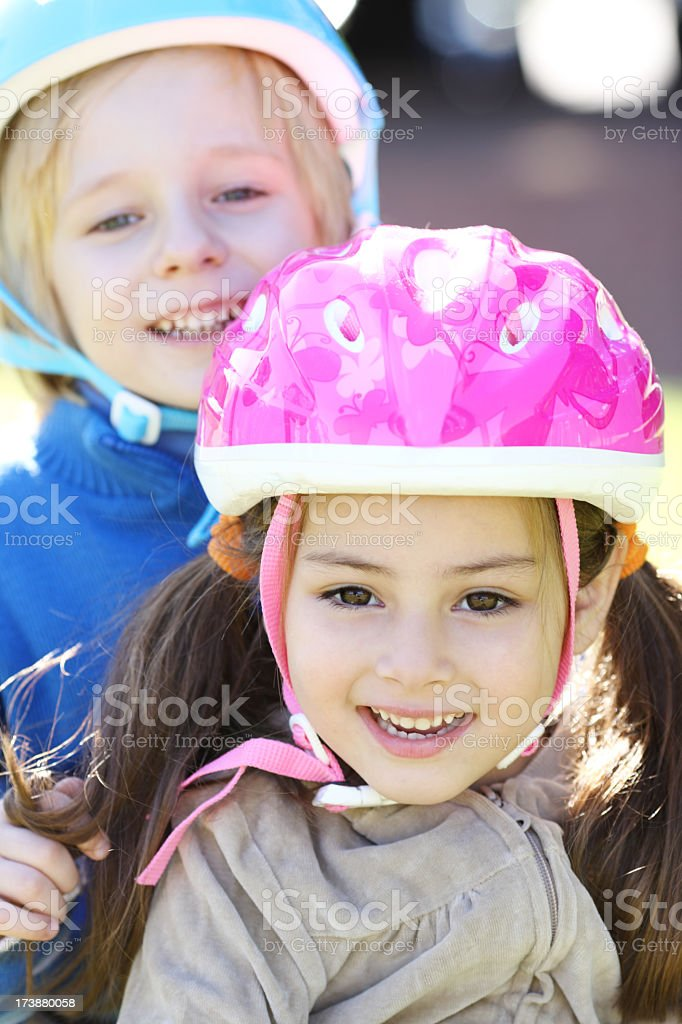 Children safety royalty-free stock photo