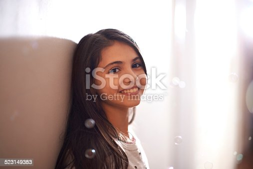 istock Children see magic because they look for it 523149383