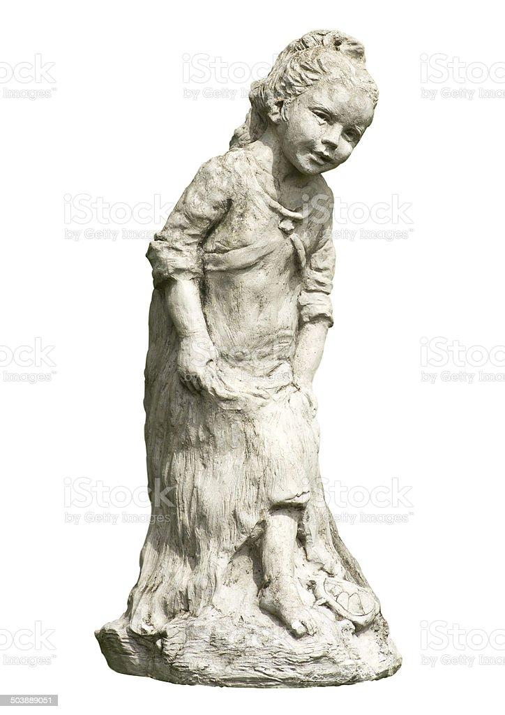 children Statues stock photo