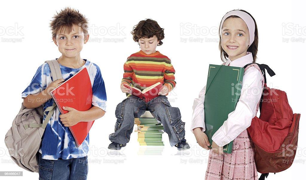 children students royalty-free stock photo